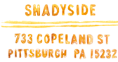 Girasole is located in the Shadyside section of Pittsburgh, PA.  733 Copeland St.